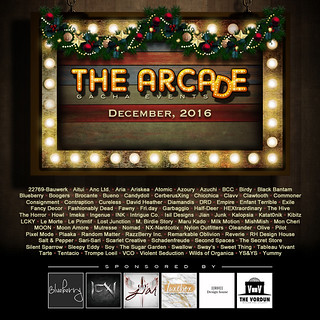 The Arcade - December 2016 Gacha Event Poster