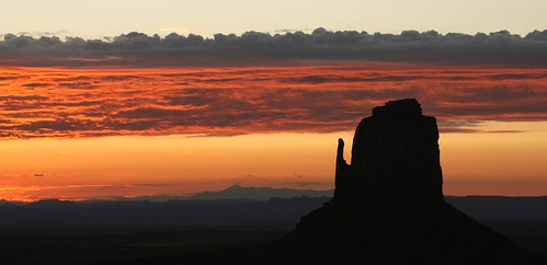 Sunrise Monument Valley | by mo-barton.pixels.com