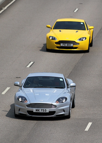 Aston Martin, DBS & Vantage, Kowloon, Hong Kong | by Daryl Chapman Photography
