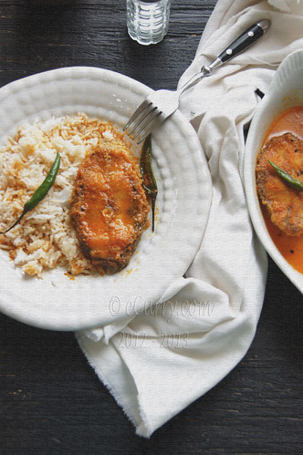 fish curry  (in nigella flavored sauce) | by Soma.R