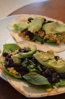 Black Bean Tacos | by tinyhousefarmstead