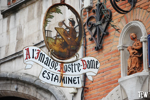 A l'imaige nostre dame, Bruxelles-estaminet | by Tasting the World