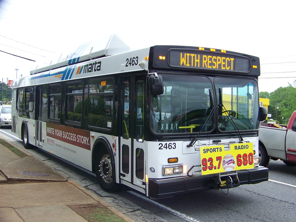 ... 2007 NFI C40LF MARTA Bus#2463 On The 75-Tucker | by Metro Atlanta
