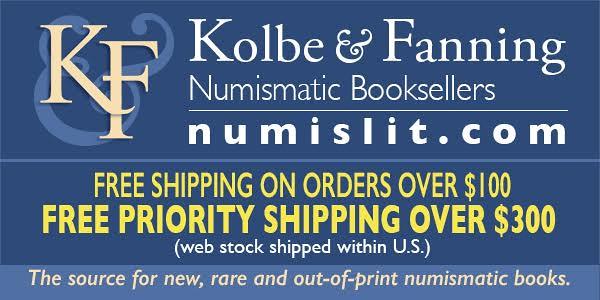 Kolbe-Fanning E-Sylum ad 2016-10-16 Free Priority Shipping