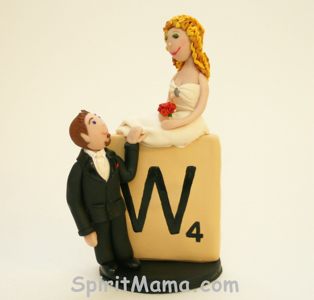 Scrabble Wedding Cake Topper | Waxela (wa-shay-la) Sananda | Flickr
