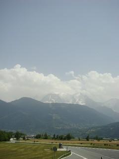 022 Tussenstop kort voor Chamonix