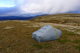 Camping above Coire Cam, East Drumochter | by Nick Bramhall