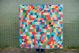 January Quilt made by Rebekah at dontcallmebecky.com | by jrcraft