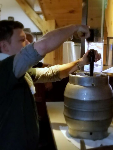 How NOT to tap a cask (of cask-conditioned ale)