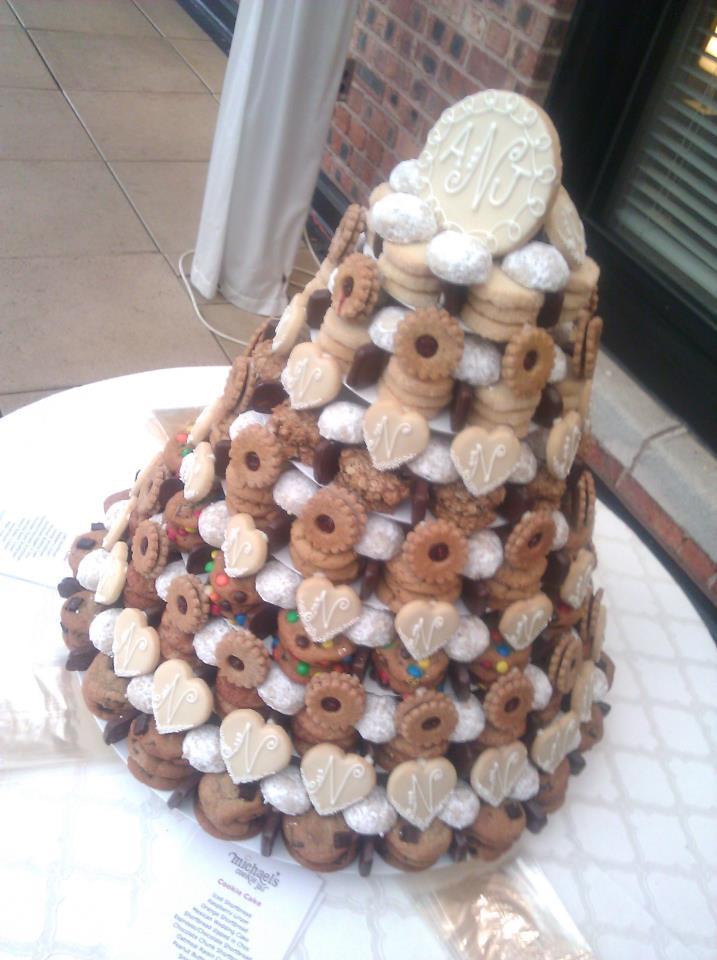 Michael's Cookie Jar Enchanting MCJ Wedding Cookie Cake Michael's Cookie Jar 60 Weslayan Flickr