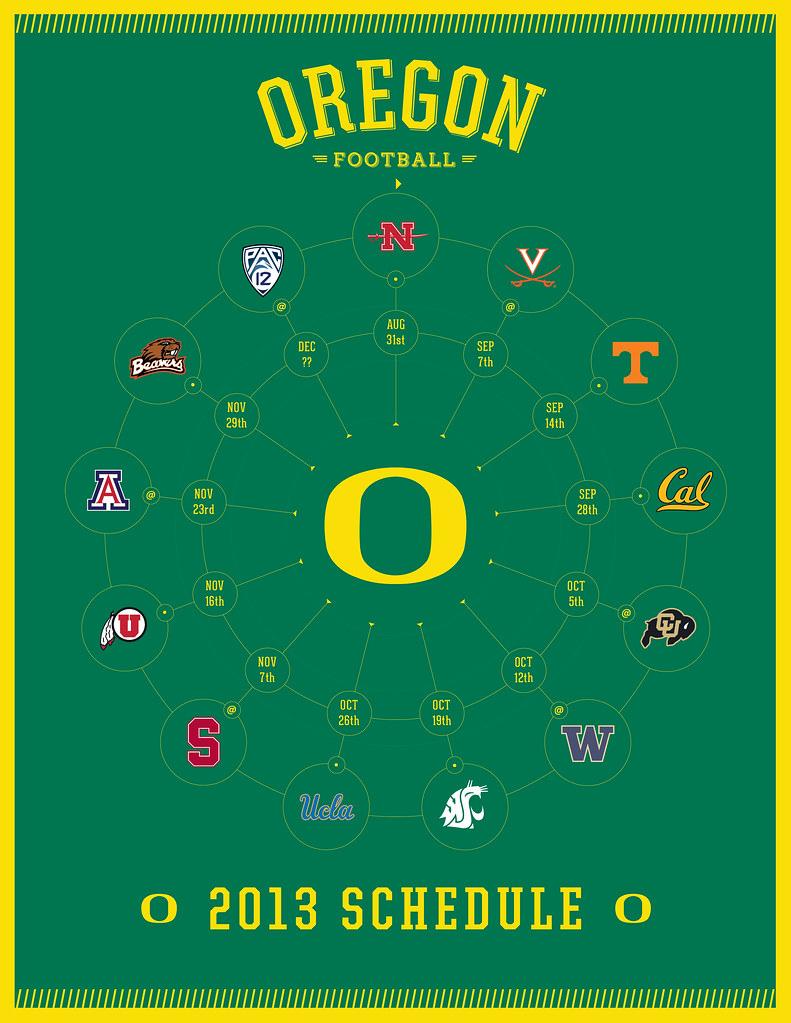 oregon ducks 2013 football schedule | kishcollageit | flickr