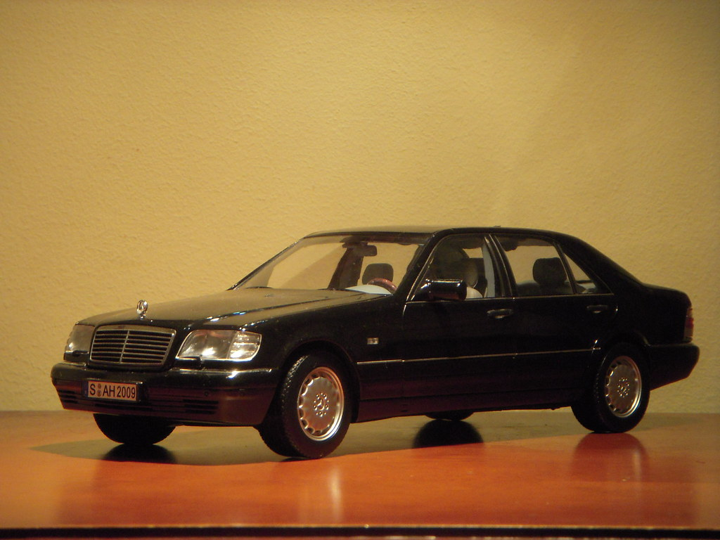 1997 mercedes benz s600 w140 1 18 diecast model by norev by paulbusuego