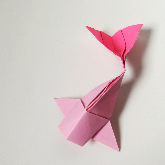 Origami Simple Koi Model By Riccardo Foschi Fish