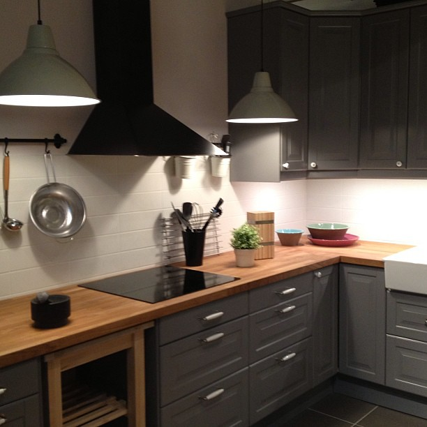 Oder die schöne Küche dieses mal in grau? #ikea #küche #ka…   Flickr   {Ikea küchen grau 12}
