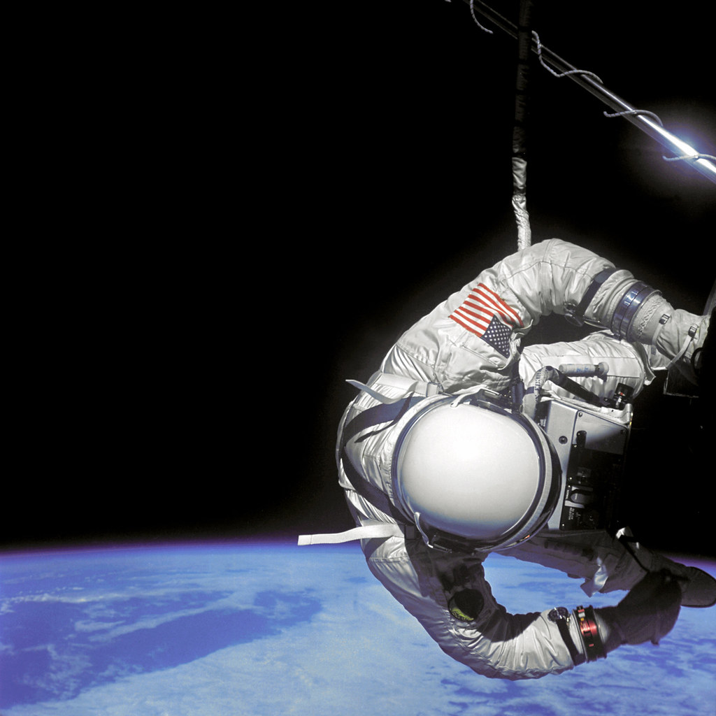 Aldrin Performs EVA