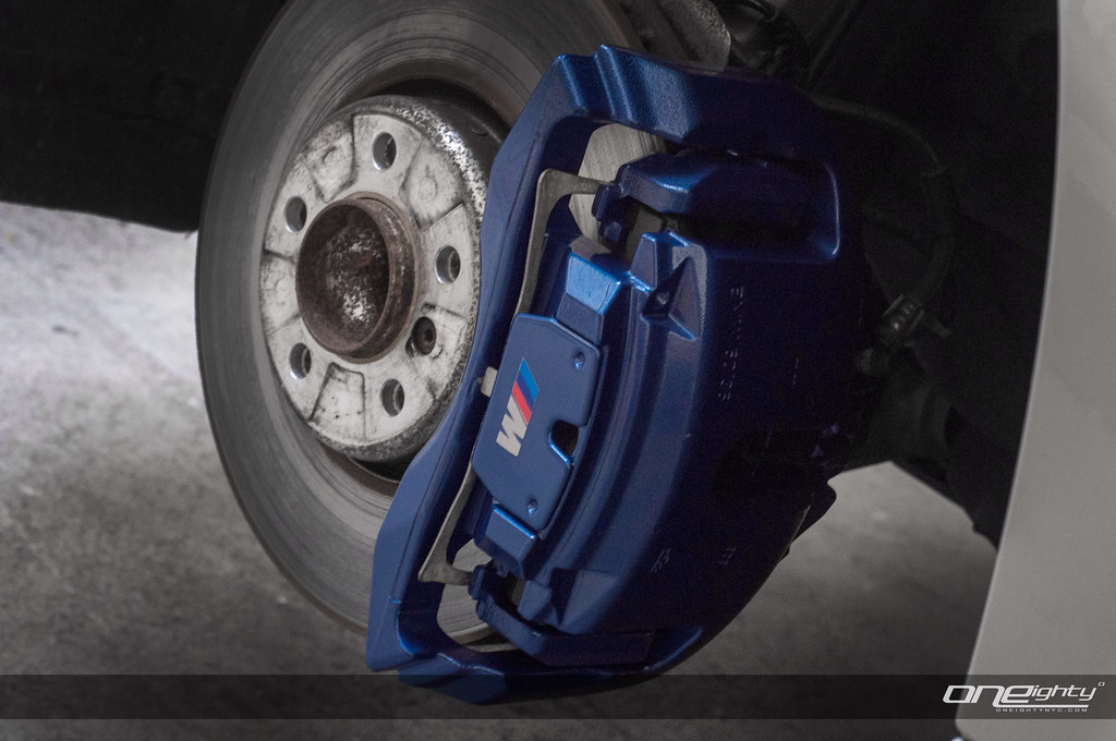 BMW Series Painted Brake Calipers F I Calipers In B Flickr - Bmw brake caliper decals