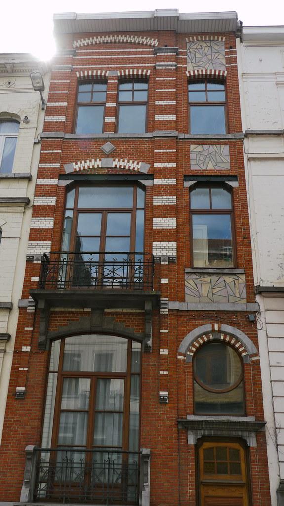 Bruxelles, Belgique: Rue du Sceptre 71, maison bourgeoise … | Flickr
