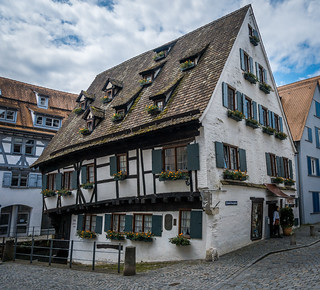 das schiefe haus ulm the leaning house ulm chrisar676 flickr. Black Bedroom Furniture Sets. Home Design Ideas