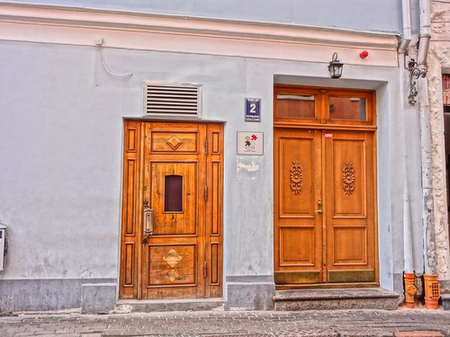 Two doors, Old Riga | by Julie70 Joyoflife