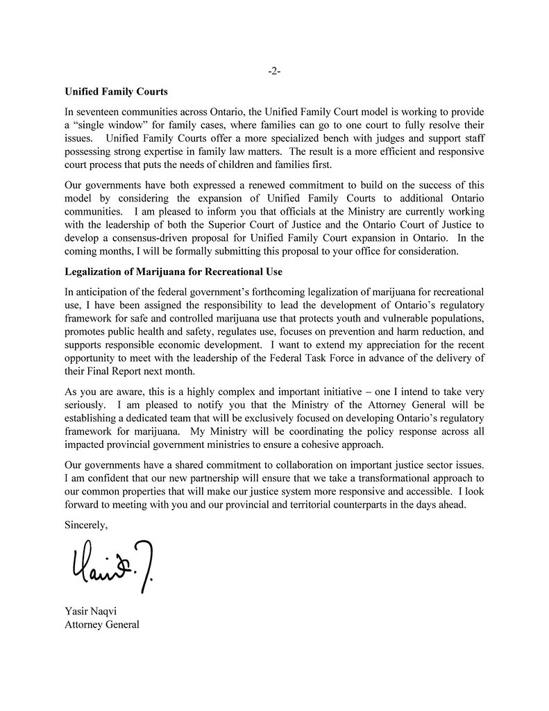 Ag NaqviS Letter To Minjusticeen Regarding Shared Justic  Flickr