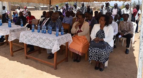 Launch of Kid Chairs at Uviluni Pri. School, Kako/Waia Ward