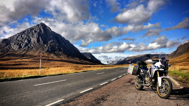 Africa twin Buachaille