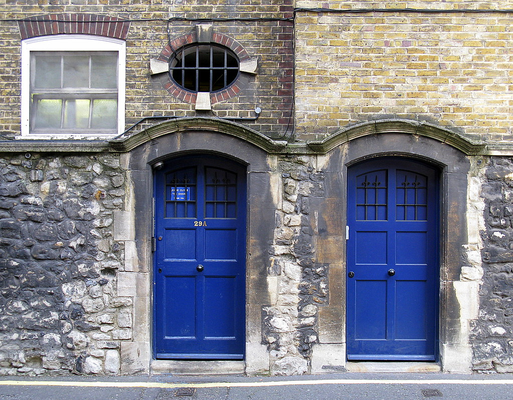 ... Two Blue Doors Westminster London | by Spencer Means & Two Blue Doors Westminster London | Spencer Means | Flickr