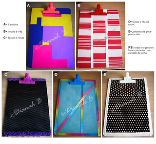 PRANCHETAS CUSTOMIZADAS (DIY - clipboards) | by Dianah B.