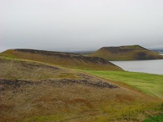 026 Pseudokraters bij Skútustaðir