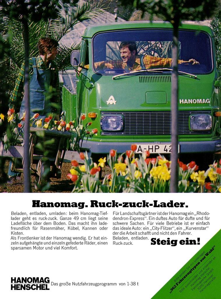 Hanomag Henschel Hanomag Transporter 1969 F Reihe Mit Pr Flickr
