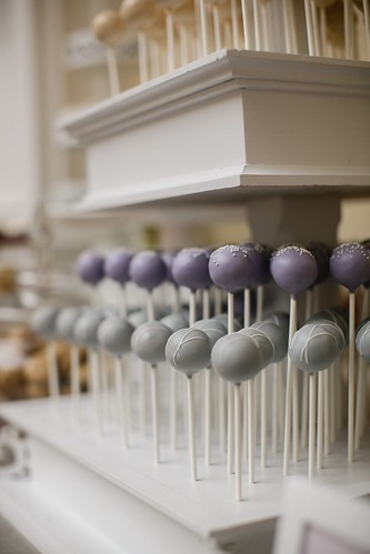 Pastel Wedding Cake Pop Display | by Sweet Lauren Cakes