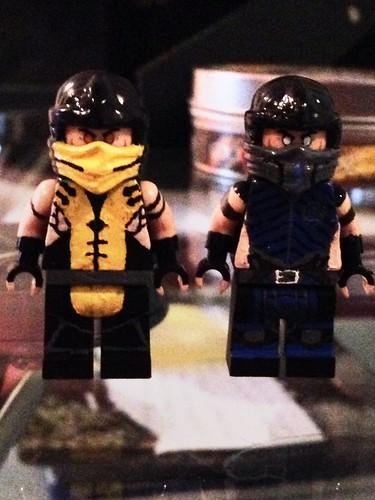 Lego Mortal Kombat X Scorpion and Sub-zero | cortes_connor ...  Lego Mortal Kom...