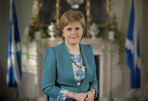 First Minister Nicola Sturgeon | by Scottish Government images