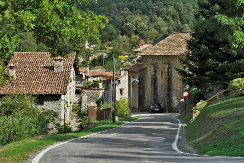 Beget, un pueblo de Girona en Catalunya