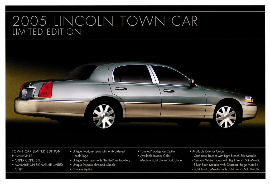 2005 Lincoln Town Car Limited Edition Alden Jewell Flickr