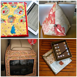 4 handmade iPad sewing tutorials | by Antípodas