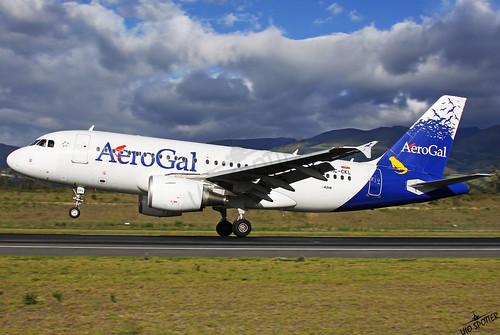 HC-CKL Aerogal A319