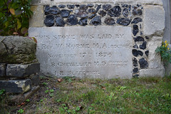 THIS STONE WAS LAID