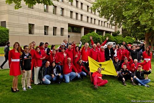 Ferrari   Largada Chile Primer Incontro Ferrari Sudamérica