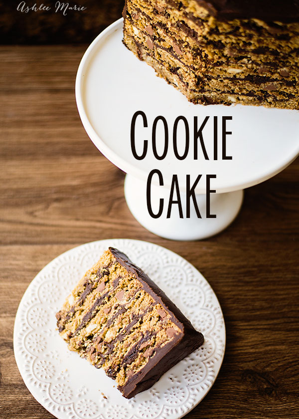 Cookie cakes are so easy to make and OH so delicious! This one is made with oatmeal chocolate chip cookies