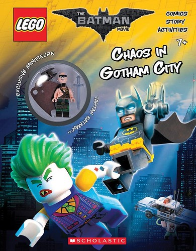 The LEGO Batman Movie Chaos in Gotham City Activity Book