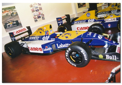 Nigel Mansell 1992 Williams Renault FW14B F1. The Donington Collection 1998 | by Antsphoto
