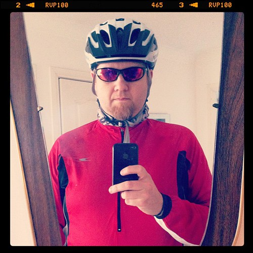 Tyres. Check. Bitching sunglasses. Check. Look a bit of a twat. Check. Let's go cycle!! | by Gordon