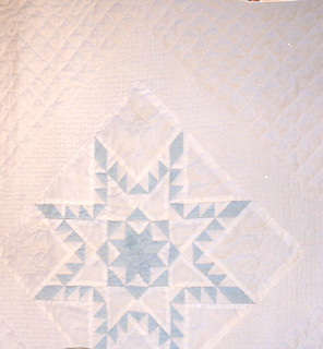 1987-10 Feathered Star Crib quilt | by nonie vogue