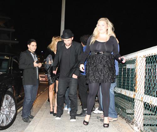 The Voice Judges, Celebrities Dine At Bondi