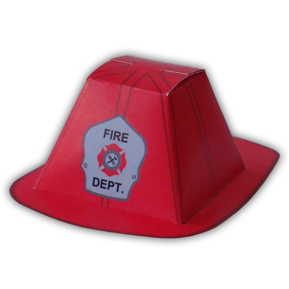 Firefighter helmet pdf gift box favor party printable colo flickr firefighter helmet pdf gift box favor party printable color template custom helmet colors available maxwellsz