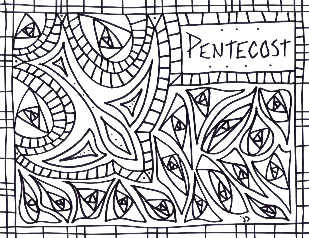 Pentecost Coloring sheet | pentecost coloring page | Flickr