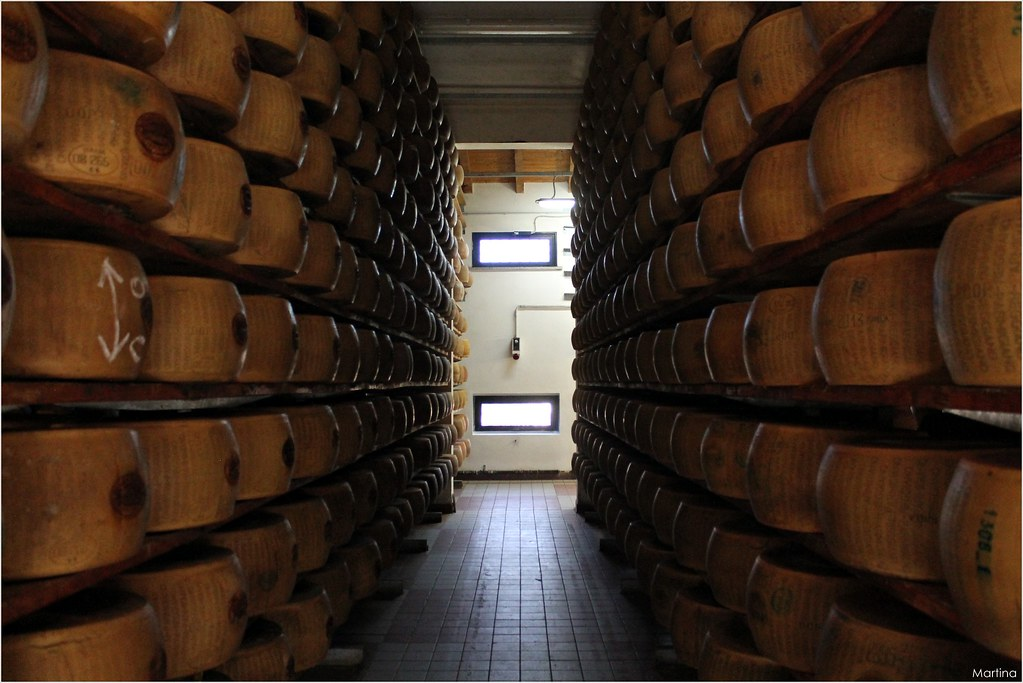 Caseificio Santa Rita Bio, Parmigiano Reggiano