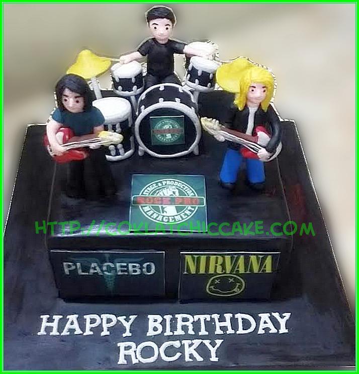 cake rock band