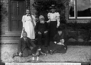 Revd William Rees Williams, vicar of Gyffylliog and family | by LlGC ~ NLW